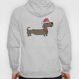 Dacshund Santa Hoody