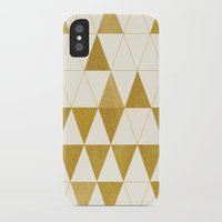 triangle iPhone & iPod Cases featuring My Favorite Shape by Krissy Diggs
