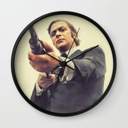 Michael Caine, Actor Wall Clock