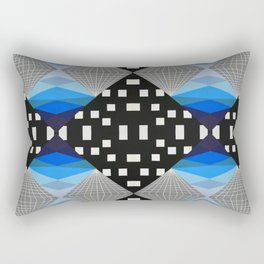 Glitch #2 Rectangular Pillow