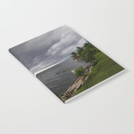 Dark Clouds Before a Tropical Downpour Notebook