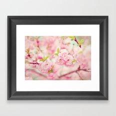 Pink Everywhere Framed Art Print