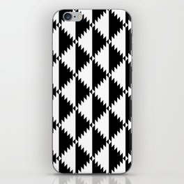 Aztec 3 B&W iPhone Skin