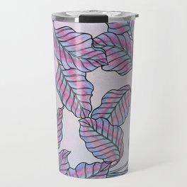 Colorful Caladiums Travel Mug