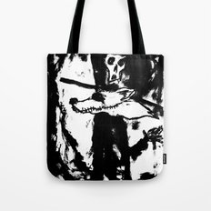 Dandy Fox Demonix (In Black Distortion) Tote Bag