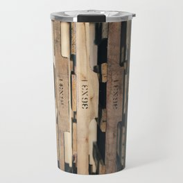 SHADES OF WOOD  Travel Mug