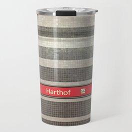 Munich U-Bahn Memories - Harthof Travel Mug