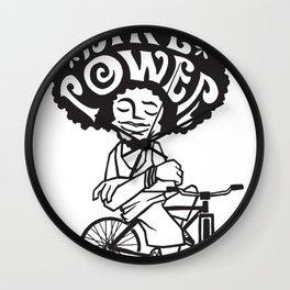 Bike Power - Bicicleta Girassol Wall Clock