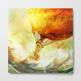 Waveward Traveler 2 Metal Print