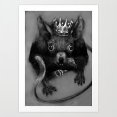 Mouse Queen of Oz Art Print