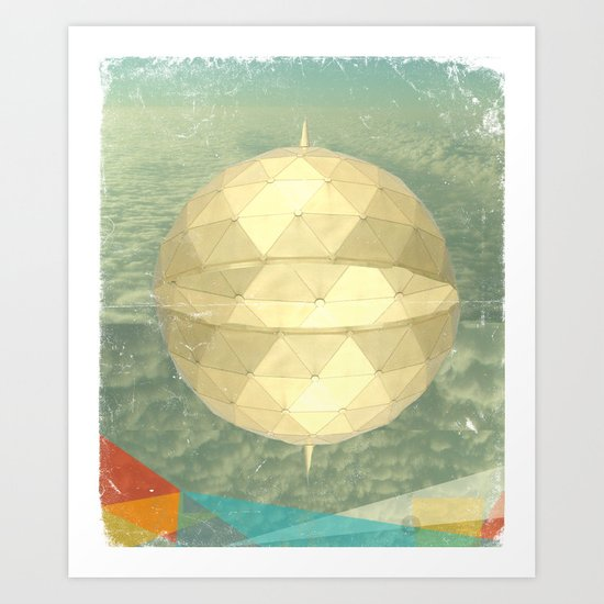 Space Dome Art Print