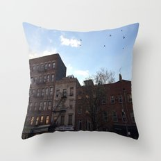 East Village Throw Pillow