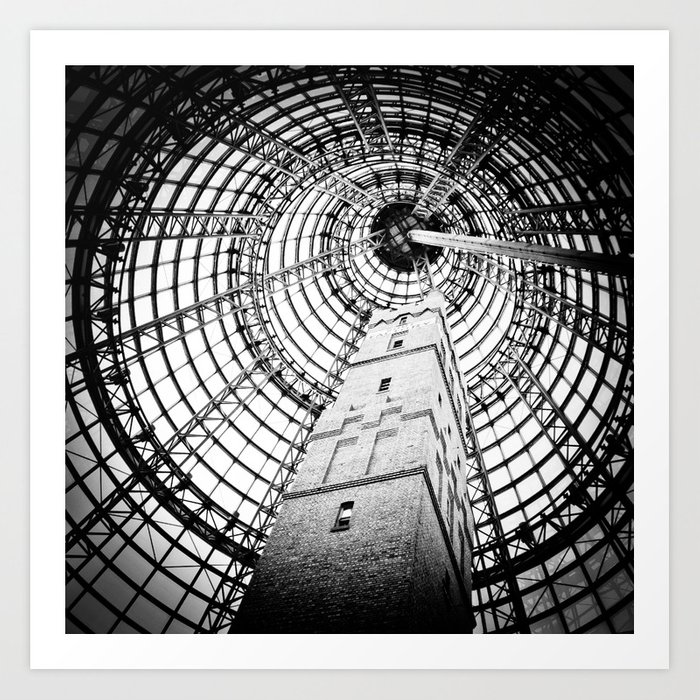 Shot Tower Art Print