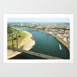 Duesseldorf Art Print