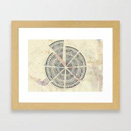 Misplaced Wash Framed Art Print