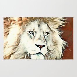Warm colored Lion King Rug