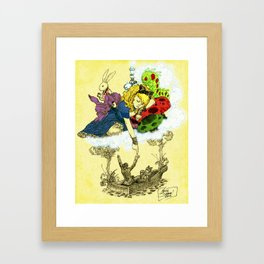'Dreaming Alice' by Kevin C. Steele Framed Art Print