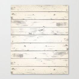 Light Natural Wood Texture Canvas Print