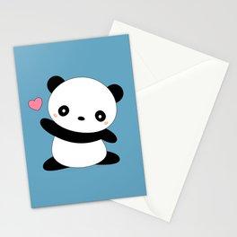 Kawaii Cute Panda Bear Stationery Cards