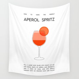 How to make the perfect Aperol Spritz  Wall Tapestry