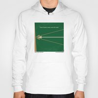 robin hood Hoodies featuring No237 My Robin Hood minimal movie poster by Chungkong