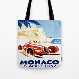 Monaco 1937 Grand Prix Tote Bag