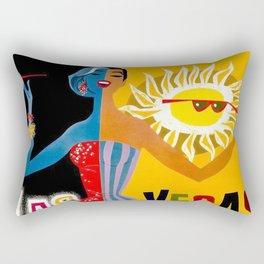 Lady Las Vegas Rectangular Pillow