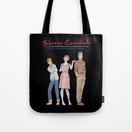 Sixteen Cannibals Tote Bag