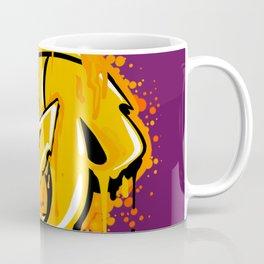 Step Gold Globe Coffee Mug
