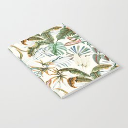 Watercolor tropical nature Notebook