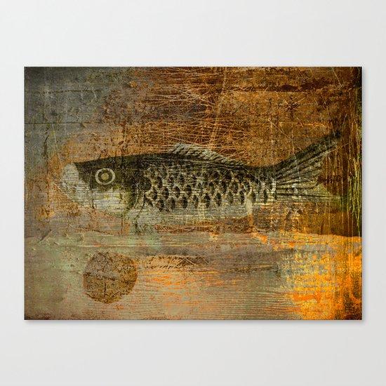 鯉 幟 (The Koinobori) Canvas Print