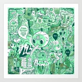 Taste Inside. Art Print