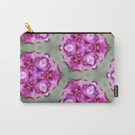Mint Pink Prism Original Artwork by Rachael Rice Carry-All Pouch