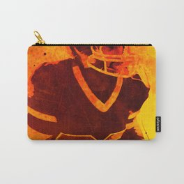Heat of American Football Carry-All Pouch
