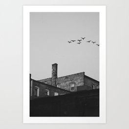Layers of Architecture Art Print