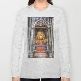 Saint Padre Pio St Stephens Cathedral Vienna Long Sleeve T-shirt