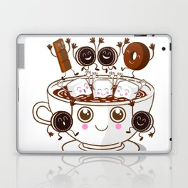 Hot Cocoa Laptop & iPad Skin