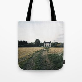farm in the countryside Tote Bag
