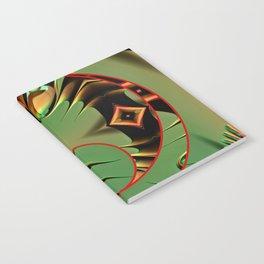 Encircled Shapes Notebook