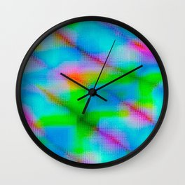 Kaleidascope 1 Wall Clock