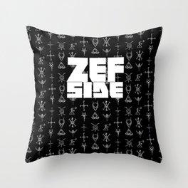 Zef Side Design Throw Pillow