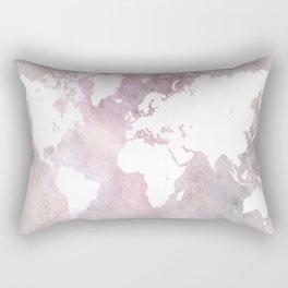 Design 66 world map Rectangular Pillow