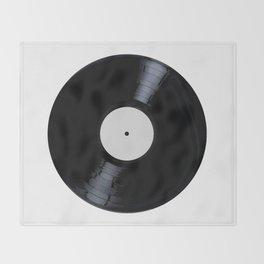 Blank White Label Throw Blanket