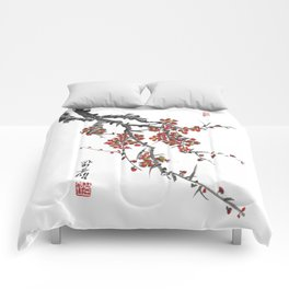 Cherry Blossom Two Comforters