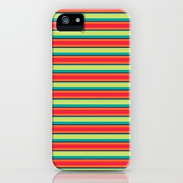 Candy Lines iPhone Case