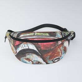 Rusting And Broken Fanny Pack