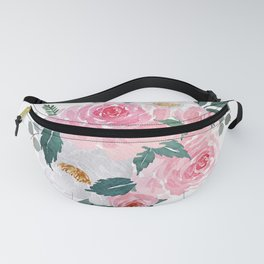 Watercolor Floral Bouquet n.1 Fanny Pack