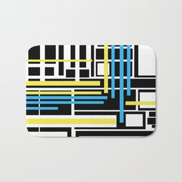 geometric art 1 Bath Mat
