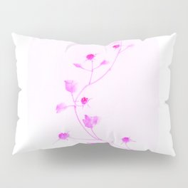 red vines in bloom Pillow Sham