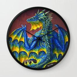 Horned Dragon Wall Clock